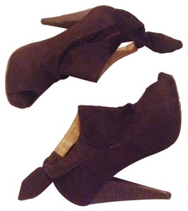 Wild Diva Brown Platforms