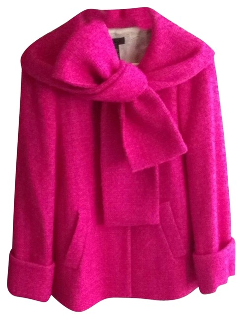 Preload https://item5.tradesy.com/images/jcrew-bright-berry-boucle-wool-scarf-size-4-s-3210379-0-1.jpg?width=400&height=650
