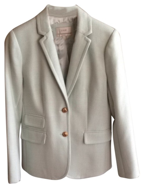 J.Crew Hacking Schoolboy Sheer Mint Blazer