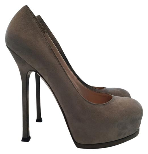 Saint Laurent #ysl #tribtoopump #limited GREY Pumps