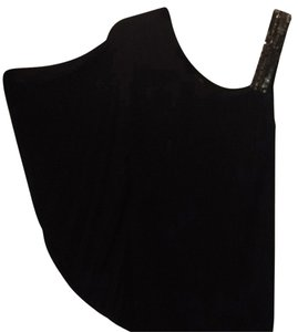 Loved by Heidi Klum Embellished Asymmetric Top -Maternity