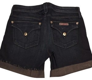 Hudson Jeans Denim Cut Off Shorts Indigo