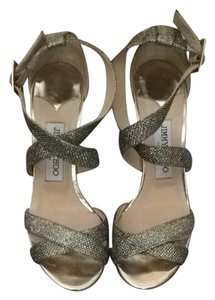Jimmy Choo Glitter Light Brown Formal