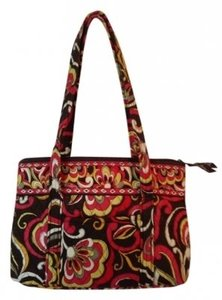 Vera Bradley Tote in Brown Multi-Color