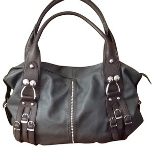 Tote in Dark Grey, Dark Brown