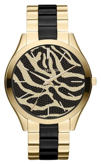 Preload https://item1.tradesy.com/images/michael-kors-two-tone-mk3315-women-s-analog-with-zebra-dial-watch-3211855-0-0.jpg?width=440&height=440
