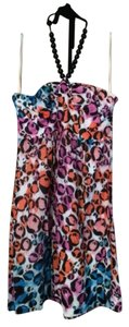 Trina Turk Beaded Neckline Dress