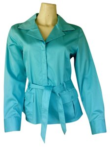Talbots Top Aqua