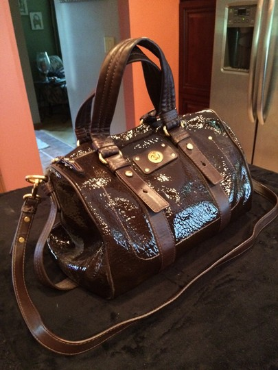 Marc by Marc Jacobs Leather Satchel in Espresso