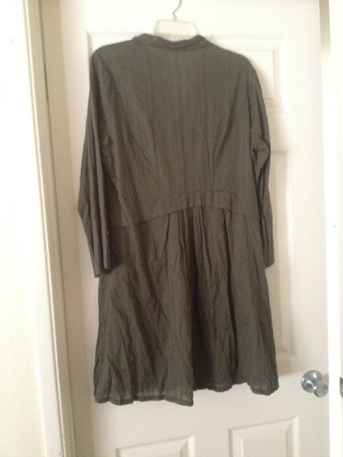 CAbi short dress Army green Shirt Jacket Spring Spring Time Got You Covered Jacket Green Light Vintage on Tradesy
