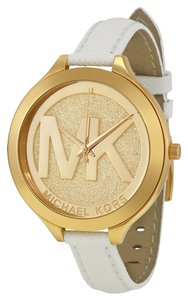 Michael Kors Michael Kors MK2389 Women's Gold Analog Watch With Champagne Dial