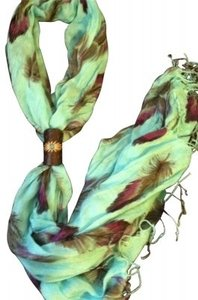 Other Fashion Scarf w/ Removable Scarf Ring