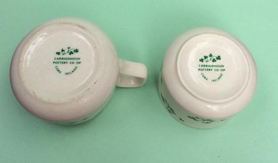 Carrigdhoun pottery co-op Sugar And Creamer set