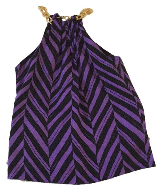 Preload https://item5.tradesy.com/images/milly-purple-and-black-halter-night-out-top-size-6-s-3213424-0-0.jpg?width=400&height=650