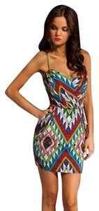 Mara Hoffman short dress Multicolored on Tradesy