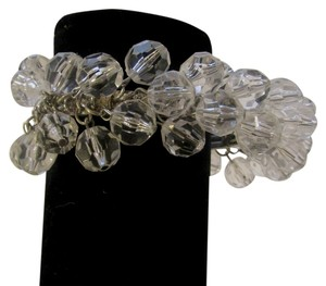Other Clear Beaded Stretch Bracelet Fits 7 to 8 Inch Wrist