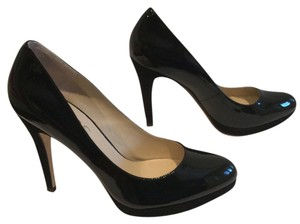 Michael Kors And Black patent suede heels all leather new Pumps