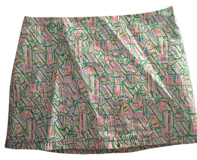 Lilly Pulitzer Ruffle Mini Skirt Multi