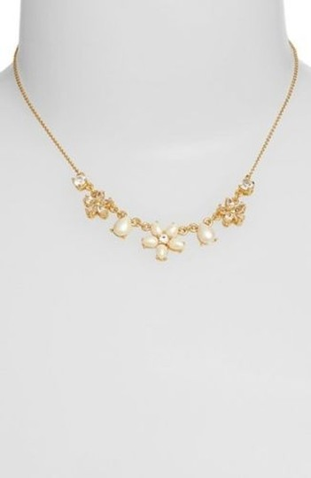 Kate Spade 12k Gold Mini Bouquet Necklace