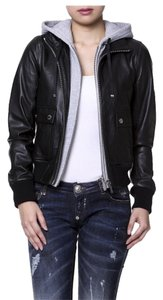 Michael Kors Leather Leather Jacket