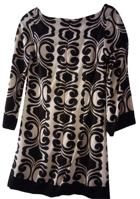 Preload https://item3.tradesy.com/images/miss-me-dress-black-and-cream-color-3217132-0-1.jpg?width=400&height=650