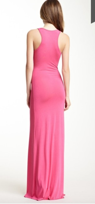 Pink Maxi Dress by Go Couture