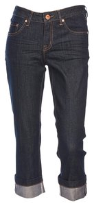 Jag Jeans Capri/Cropped Denim-Dark Rinse