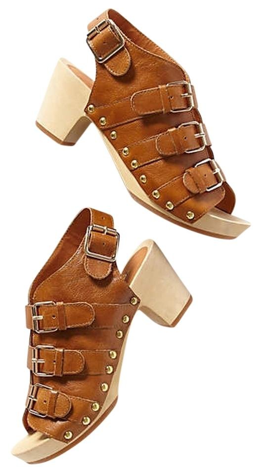 WOMENS Mules/Slides Anthropologie Brown Ashbury Mules/Slides WOMENS The highest quality material d5333e