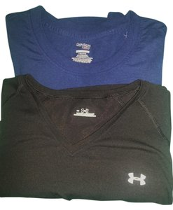 Under Armour & Danskins Now...Two Workout shirts
