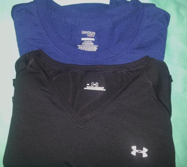 Under Armour Two Workout shirts, Under Armour& Danskins Now.