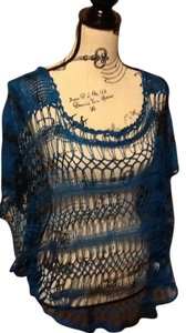 One World Poncho Comfortable Lightweight Delicate Sweater