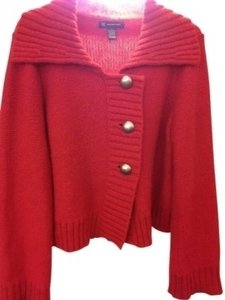 INC International Concepts Swing Cardigan 3 Button Sweater