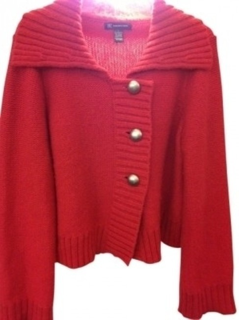 Preload https://item4.tradesy.com/images/inc-international-concepts-red-swing-cardigan-3-button-sweaterpullover-size-12-l-32188-0-0.jpg?width=400&height=650