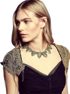 Cleobella x Free People Free People x Cleobella SERENA Turquoise/Bronze collar ~ Pair this with the Secret Garden Top~