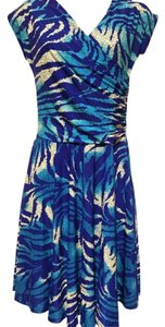 Avatar Imports short dress Blue on Tradesy