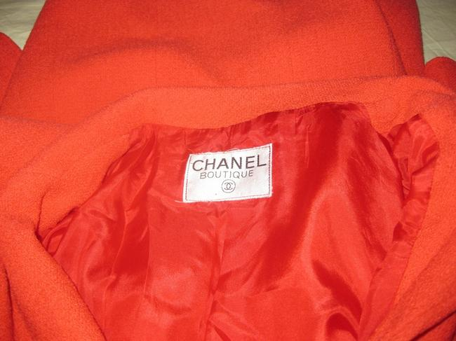 Chanel Suit Tweed Boucle Military Jacket