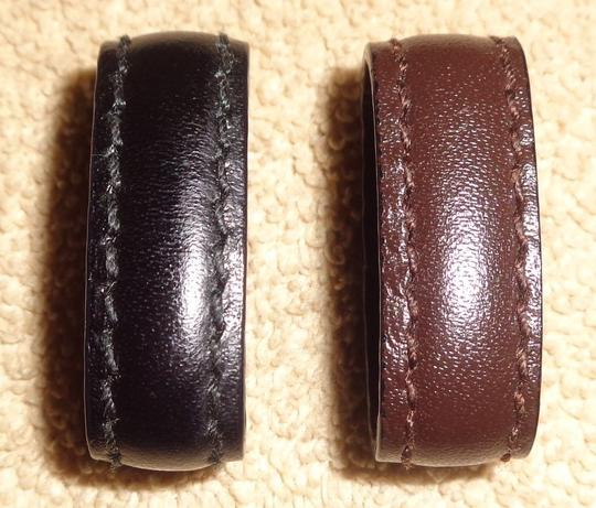 Gucci Gucci Leather 30 Reversible Black/Brown Belt