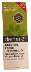 Derma E Derma E Natural Soothing Facial Treatment Oil Argan Oil Organic Face Moisturizer