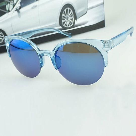 Other New Coquette Cat-eye Sunglasses (blue)