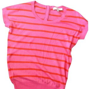 Ann Taylor LOFT Top Pink/Orange