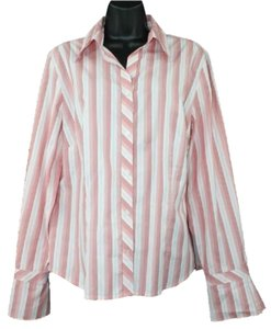 Ann Taylor LOFT Cotton Shirt Button Down Shirt