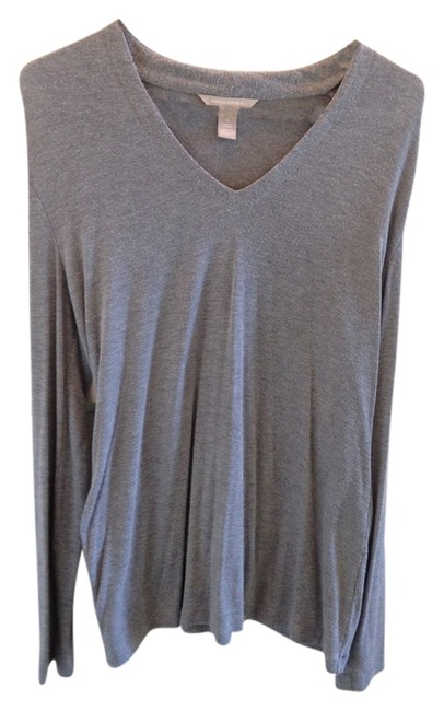 Preload https://item1.tradesy.com/images/banana-republic-gray-long-sleeve-tee-shirt-size-12-l-3220420-0-0.jpg?width=400&height=650