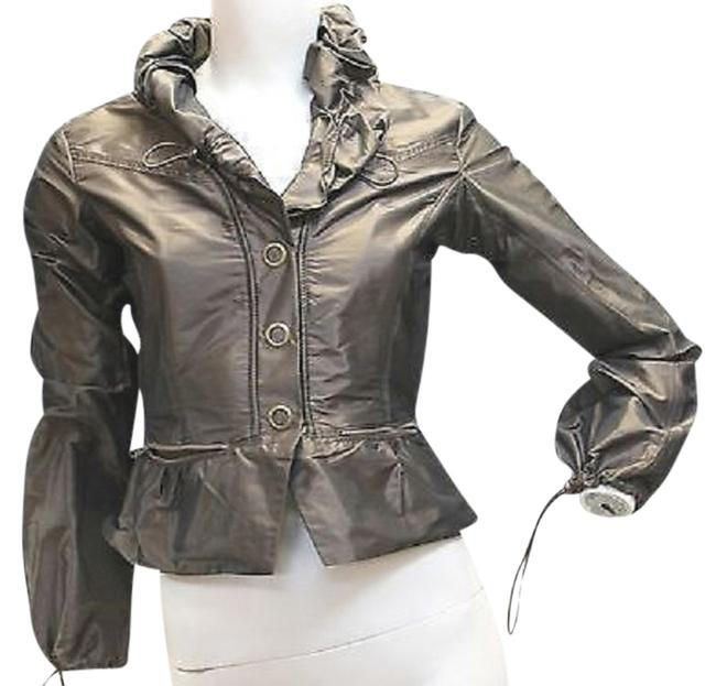 Preload https://item4.tradesy.com/images/jon-buttoned-drawstring-collar-pewter-blouse-button-down-top-size-8-m-3220558-0-0.jpg?width=400&height=650