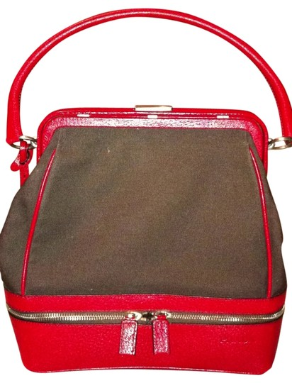 Preload https://item2.tradesy.com/images/prada-brown-and-red-shoulder-bag-32206-0-0.jpg?width=440&height=440