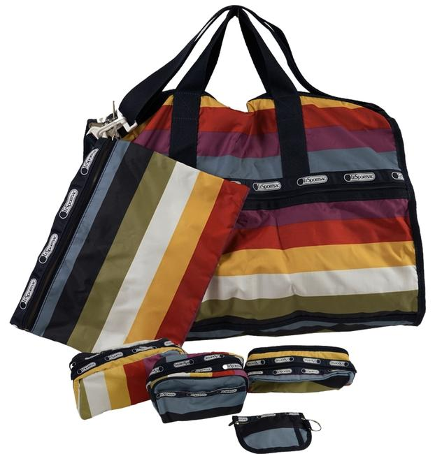 Item - With Accessories Multicolor Nylon Weekend/Travel Bag