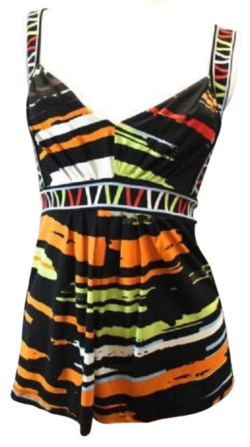 Preload https://item5.tradesy.com/images/bcbgmaxazria-print-banded-strap-xs-blouse-size-2-xs-3221074-0-0.jpg?width=400&height=650