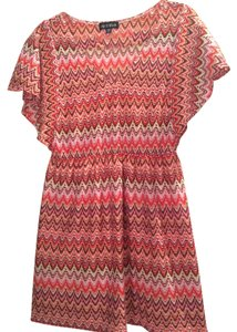 As U Wish short dress Orange Chevron on Tradesy