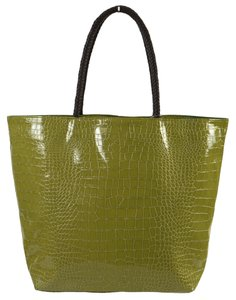 Neiman Marcus Green Beach Bag