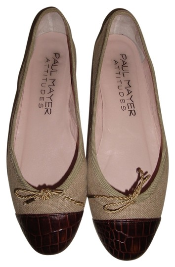 Paul Mayer Khaki/Brown Flats