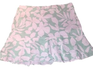 Theory Skirt White And Light Green